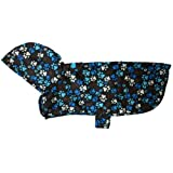 RC Pet Products Packable Dog Rain Poncho, Pitter Patter Chocolate (XX Large)