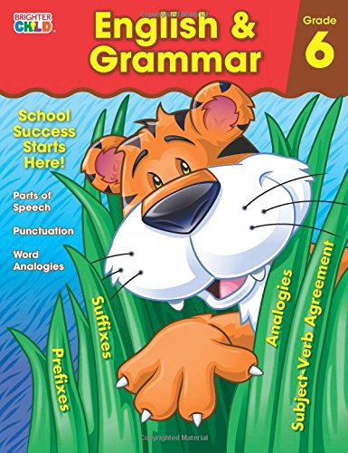 Brighter Child English & Grammar: Grade 6