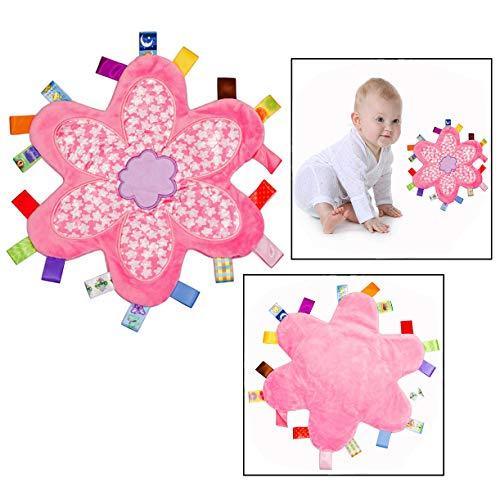 OFKPO Baby Sicherheitsdecke,Taggies Spielzeug Schnuffeltuch plüschdecke für Baby