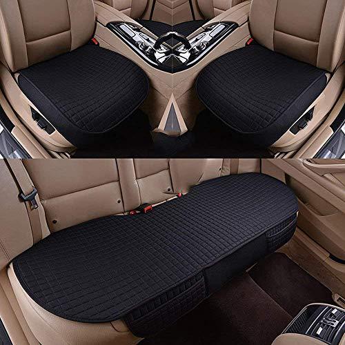 Copertura per seggiolino auto Traspirante Decorazione resistente all'usura Accessori interni per autoveicoli per pick-up SUV Cuscini per sedili con protezione automatica per camion 3 pz