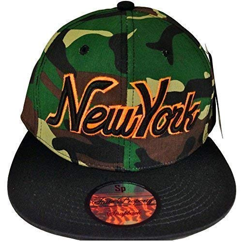 State Property New York Camouflage Casquettes Snapback, Bling Tyga Baseball Ajustée Visière Plate Chapeaux