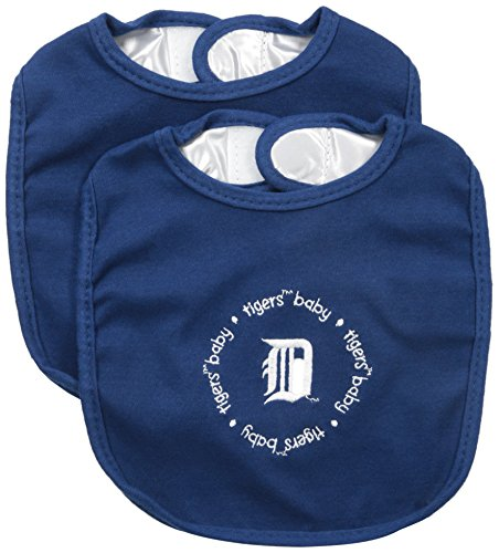 Baby Fanatic Team Color Bibs, Detroit Tigers, 2-Count -
