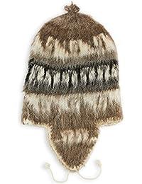 Amazon.es  gorro orejeras - Marrón   Gorros de punto   Sombreros y ... fe0c118f9f6