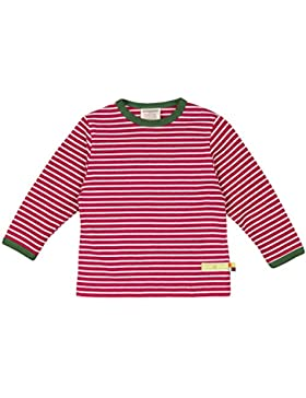 loud + proud Mädchen Sweatshirt Shirt Ringel