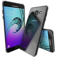 SDTEK Samsung Galaxy A3 (2016) Coque Housse Silicone Case Cover Transparent Crystal Clair Soft Gel TPU