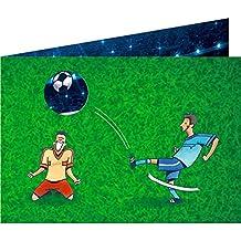 Spiegelburg 14119 Juego de 8 Invitaciones y Sobres para Fiestas Cumpleaños Temáticas Futbol ...
