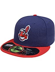 new era cleveland indians authentic home
