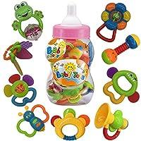 Divertente gioco per bambini - interessante da giocare con colori brillanti, questo giocattolo può attirare l'attenzione del bambino, in modo che il bambino abbia più percezione del mondo esterno.  Con la crescita del bambino, a loro piacerà ...