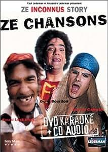 Ze Inconnus Story : Best Of Chansons - Coffret Karaoké [Inclus un CD audio]