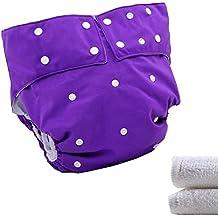 /Frauen Erwachsene Tuch Windel mit 1pc Einsatz f/ür Inkontinenz Care/ lukloy/ /Dual Opening Pocket verstellbar waschbar wiederverwendbar einen auslaufsicheren Windel