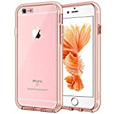 iPhone 6s Plus Hülle, JETech® Apple iPhone 6 Plus / 6s Plus 5.5 Hülle Tasche Schutzhülle Case Cover Bumper und Anti-Scratch Löschen Back für iPhone 6s Plus iPhone 6 Plus 5.5 (Roségold)