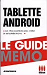 GUIDE MEMO£TABLETTES ANDROID par Genevray