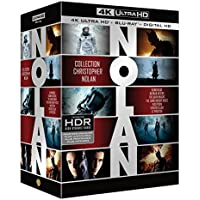 Coffret Christopher Nolan 7 Films : Dunkerque / Interstellar / Inception / Batman Begins / The Dark Knight / The Dark Knight Rises / Le Prestige - Blu-Ray 4K