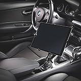 Infuu Holders KFZ Metall Becherhalterung Getränkehalter Aluminium für Tablet 10-15 Zoll Apple iPad Pro 12,9