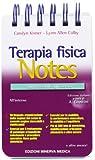Terapia fisica Notes. Guida tascabile agli esercizi