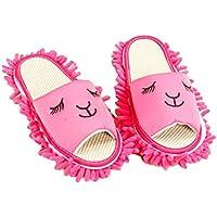 Cartoon Waschbar Reinigung Hausschuhe Hausschuhe Fuzzy Feet Länge 24,5 CM-04 preisvergleich bei billige-tabletten.eu