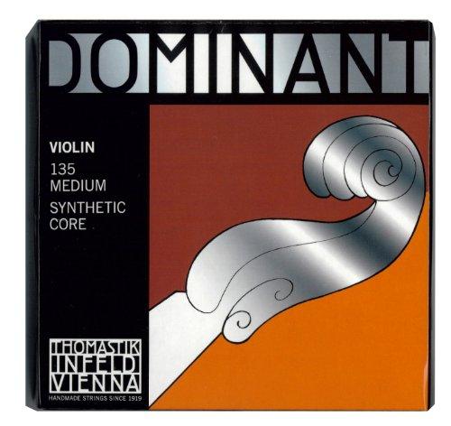 Thomastik Dominant 135 MEDIUM - 4/4 Violin Saitensatz [original Infeld Viena Handmade Strings]
