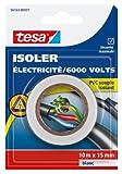 Tesa 56163-00001-00 isolieren Strom/6.000 V, PVC, isoliert, 10 m x 15 mm