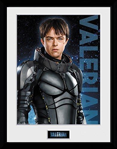 Preisvergleich Produktbild 1art1 106713 Valerian – Die Stadt Der Tausend Planeten - Valerian Gerahmtes Poster Für Fans Und Sammler 40 x 30 cm