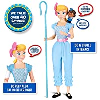 Thinkway Toys 64433 Interactive Bo Peep and Giggles Talking Friends - Toy Story 4, Multi