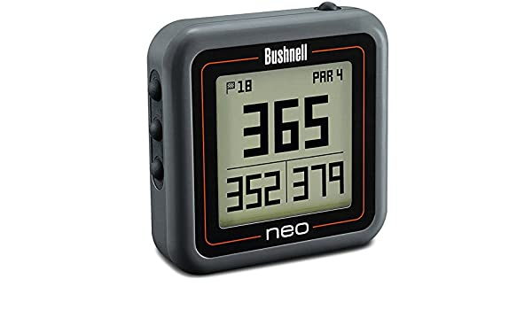 Bushnell Neo Ghost Gps Entfernungsmesser : Bushnell gps neo ghost golf charbon amazon elektronik