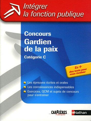 CONCOURS GARDIEN PAIX 2005