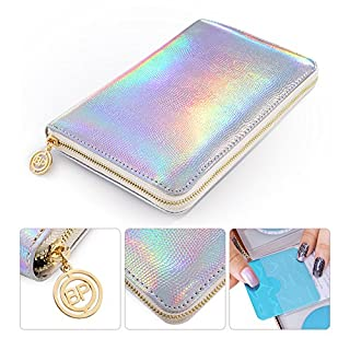 Born Pretty Nail Art 72 Slots Stamping Plate Collection Holder Holo Snakeskin Nail Art Plate Organizer