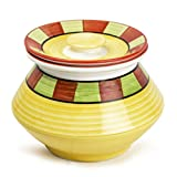 #10: Style My Way Handpainted & Handcrafted Ceramic Handi with Lid