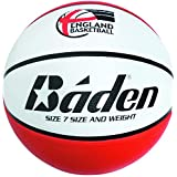 Baden Kids England Deluxe Basketball - Red/White, Size 5