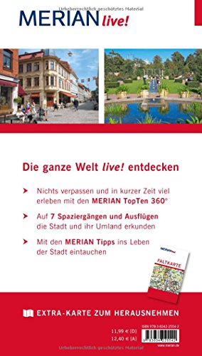 MERIAN live! Reiseführer Göteborg: Mit Extra-Karte zm Herausnehmen: Alle Infos bei Amazon