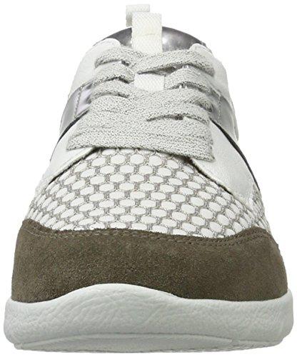Branco Mulheres Prata Sneaker Zamora Jenny alpaca Branco qtWtUr4Ogw