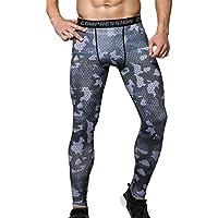 YiJee Hombre Secado Rápido Aptitud Pantalones de Compresión de Jogging