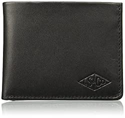 (CERTIFIED REFURBISHED) Levis Leather Black Mens Wallet (77173-0870)