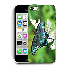 Snoogg Multicolor Butterfly Printed Protective Phone Back Case Cover For Apple Iphone 6+ / 6 Plus