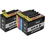 Start - 5 Cartucce d'inchiostro compatibile con HP 932XL 933XL