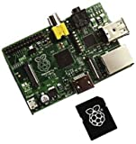 Pour Raspberry Pi - 8 Go de carte SD pré chargé avec NOOBS - Comprend Raspbian Wheezy / RaspBMC (XBMC Media Centre) / OpenELEC / PiDora / ArchLinux / RiscOS