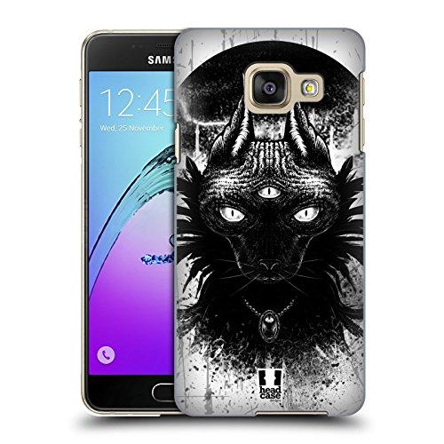 Head Case Designs Dritte Auge Goth Katze Ruckseite Hülle für Samsung Galaxy A3 (2016)
