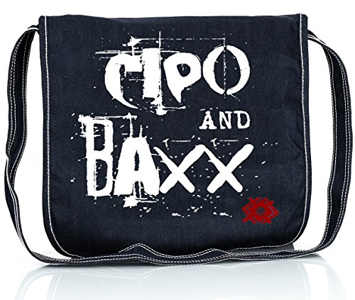 Cipo & Baxx Herren Jeans inkl. Cipo & Baxx Umhängetasche Blau