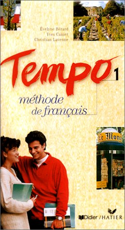 Tempo 1 : Méthode de français (coffret 3 cassettes)
