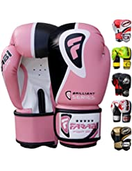 Farabi Boxing Gloves 10oz 12oz 14oz 16oz Boxing Gloves for Training Punching Sparring Punching Bag Boxing Bag Gloves Punch Bag Mitts Muay Thai Kickboxing MMA Martial Arts Workout Gloves Boxing gloves Men Boxing Training Gloves