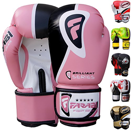 Farabi-Boxing-Gloves-10oz-12oz-14oz-16oz-Boxing-Gloves-for-Training-Punching-Sparring-Punching-Bag-Boxing-Bag-Gloves-Punch-Bag-Mitts-Muay-Thai-Kickboxing-MMA-Martial-Arts-Workout-Gloves-Boxing-gloves-