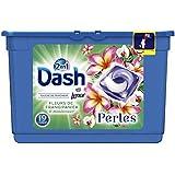 Dash 2en1 Perles Lessive en Capsules Fleurs De Frangipanier & Mandarinier 19Lavages