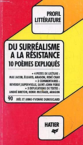 Profil D'Une Oeuvre - Du surréalisme à la Résistance