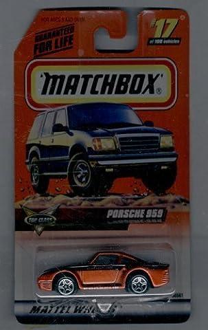 Matchbox 1998-17 of 100 Series 4 TOP Class Porsche 959 1:64 Scale by MATTEL