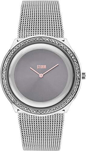 Storm Reloj los Mujeres Zuzori Crystal Grey 47374/GY