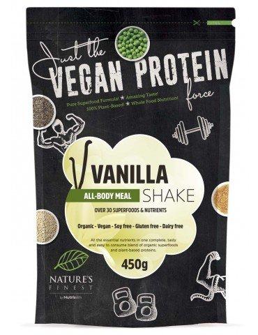 All BodyVegan Meal Shake, Vanille, 30+ Superfoods