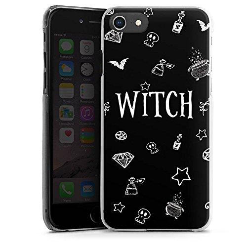 Apple iPhone 6s Silikon Hülle Case Schutzhülle Witch Hexe Halloween Hard Case transparent
