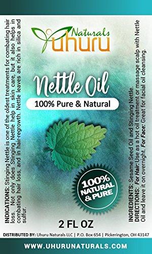 Uhuru Naturals Bouteille d'huile d'ortie 2