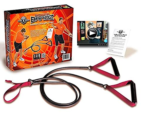 Golf-Training - Golfübungsgeräte - Schlagnetze - Die Golf Gym Power Bandz / Widerstand Starke