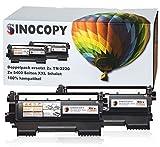 2x SinoCopy XXL Toner 5.400 Seiten ersetzt Brother TN-2220, TN2220, TN 2210, TN2210 für Brother DCP7060 DCP7060D DCP7060N DCP7060DN DCP7070 DCP7070DW HL2240 HL2240D HL2240L HL2250 HL2250DN HL2270 HL2270DW MFC7360 MFC7360N MFC7460 MFC7460DN MFC7860 MFC7860DW